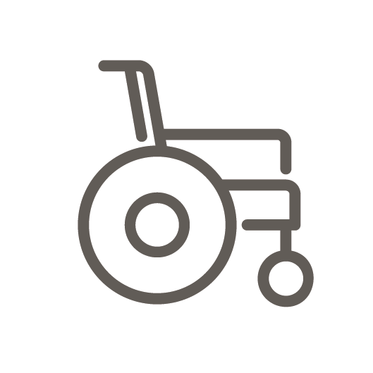 Disabled technical equipment